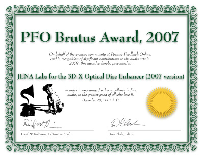 brutus award for esoteric 3d-x