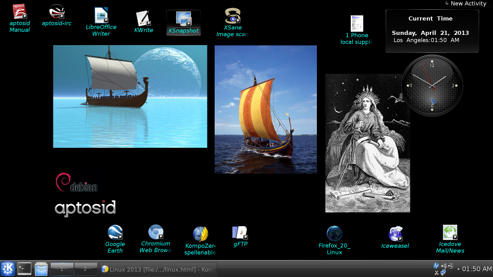 Current desktop Linux