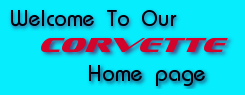 Welcome to our Corvette site