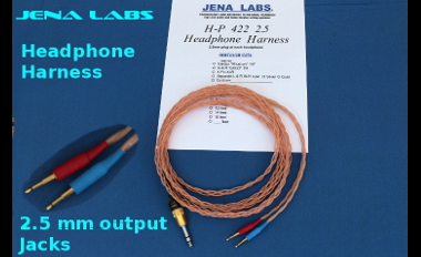 2.5 mm headphone harness